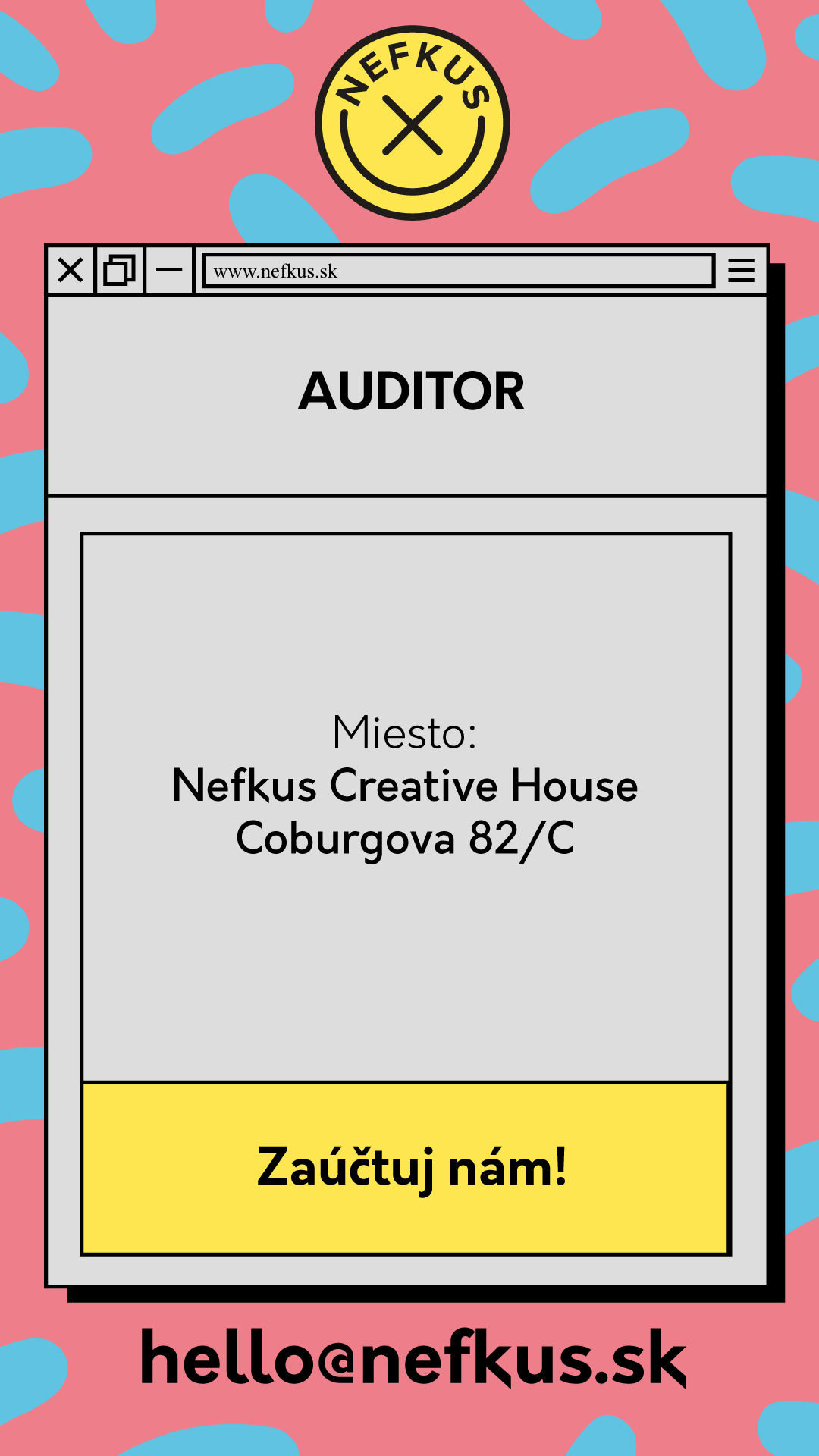 Pracovná ponuka na auditora
