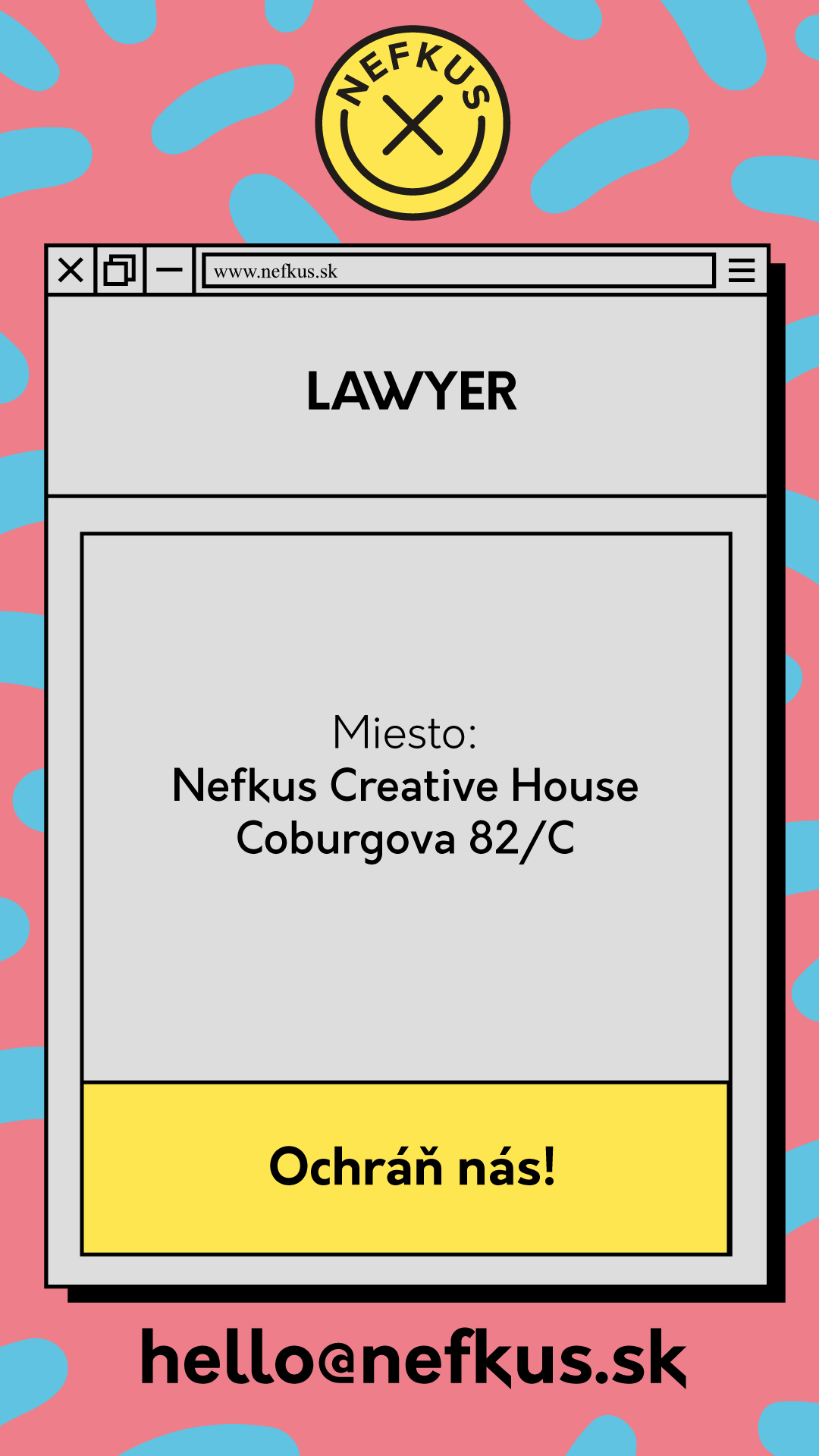 Pracovná ponuka na právnika